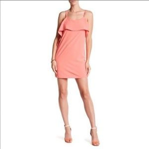 NWT The Vanity Room Coral Cocktail Dress size XS